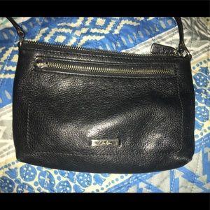 Cole Haan crossbody black leather bag